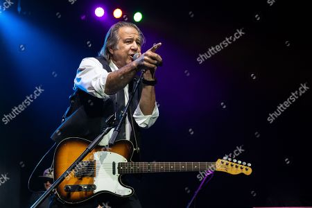 Editorial picture of Greg Kihn in concert at H-E-B Center, Rick Springfield Presents Best in Show tour, Cedar Park, USA - 02 Nov 2018
