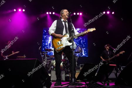 Editorial image of Greg Kihn in concert at H-E-B Center, Rick Springfield Presents Best in Show tour, Cedar Park, USA - 02 Nov 2018