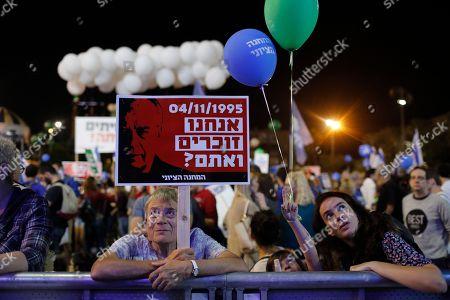 Editorial photo of 23th anniversary of Yitzhak Rabin assassination, Tel Aviv, Israel - 03 Nov 2018