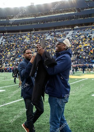 Editorial picture of Penn St Michigan Football, Ann Arbor, USA - 03 Nov 2018