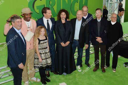 Tyler the Creator, Benedict Cumberbatch, Cameron Seely, Chris Meledandri, Michael LeSieur, Chris Renaud
