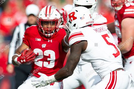 Editorial picture of NCAA Football Rutgers vs Wisconsin, Madison, USA - 03 Nov 2018
