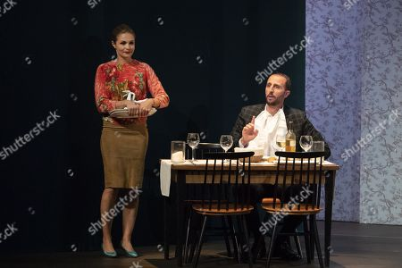(G-D) Barbara Schulz, Arie Elmaleh