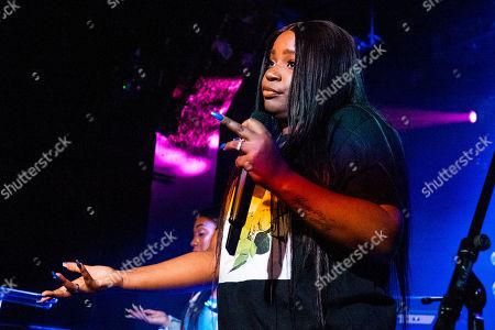 Editorial picture of Jessie Reyez in concert, Miami, USA - 02 Nov 2018