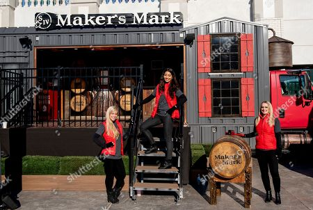 Stock Photo of Louisville, KY, U.S. - , The Maker's Mark stand on Breeders Cup World Championships Saturday at Churchill Downs on November 3, 2018 in Louisville, Kentucky. Sam English/Eclipse Sportswire/CSM