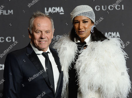 Stock Image of Wolfgang Puck and Gelila Assefa