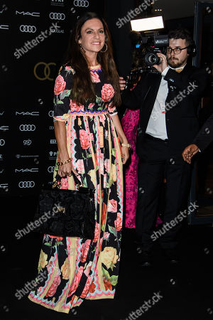 Christine Neubauer arrives for the 25th Opera Gala of the German Aids Foundation in Berlin, Germany, 03 November 2018. The gala is one of the most important charity events to be hosted in the German capital.
