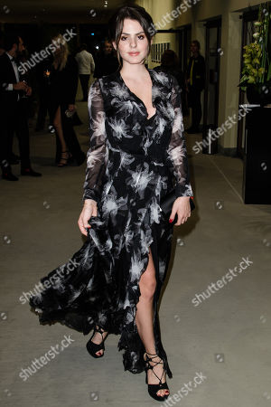 Ruby O. Fee arrives for the 25th Opera Gala of the German Aids Foundation in Berlin, Germany, 03 November 2018. The gala is one of the most important charity events to be hosted in the German capital.