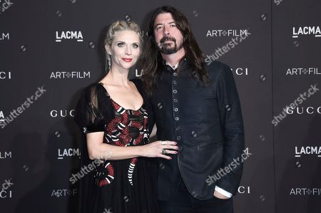 Jordyn Blum, Dave Grohl. Jordyn Blum, left, and Dave Grohl attend the 2018 LACMA Art + Film Gala at Los Angeles County Museum of Art, in Los Angeles