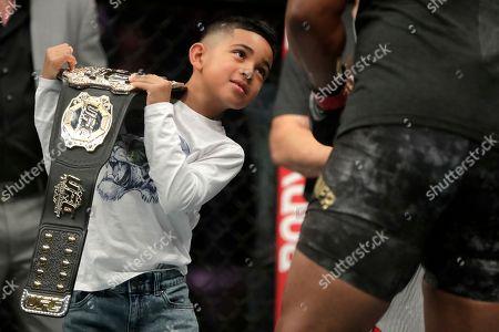 Editorial image of UFC 230 Mixed Martial Arts, New York, USA - 04 Nov 2018