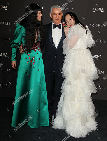 Stock Photo of Eva Chun, Baz Luhrmann and Asia Chow