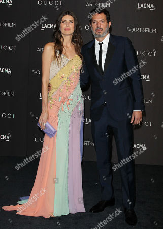 Michelle Alves and Guy Oseary