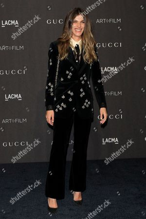 Elisa Sednaoui arrives for the LACMA Art and Film Gala at the Los Angeles County Museum of Art, in Los Angeles, California, USA, 03 November 2018.