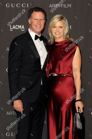 Will Ferrell (L) and Viveca Paulin arrive for the LACMA Art and Film Gala at the Los Angeles County Museum of Art, in Los Angeles, California, USA, 03 November 2018.