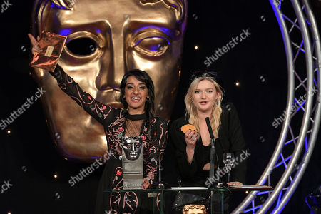 Stock Photo of Sophie Kennedy Clark and Kiran Sonia Sawar