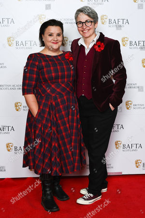 Susan Calman and Lee Cormack