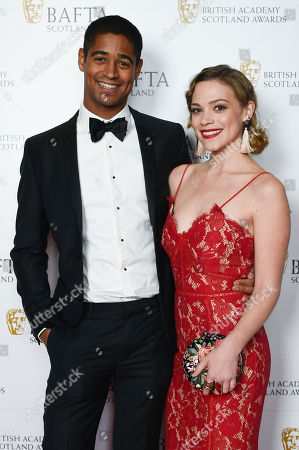 Alfred Enoch and Katie Clarkson Hill