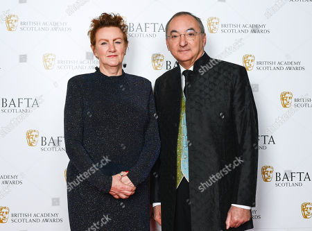 Stock Picture of Pat Campbell and Peter Kosminsky