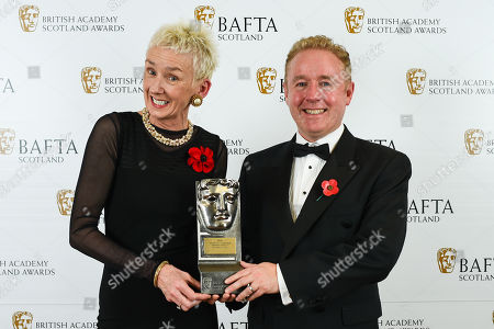 Stock Photo of Writer, Film/Television - 'The Death of Stalin' presented by Muriel Gray and Mark Millar