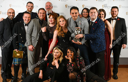 Grado, Chris Forbes, Manjot Sumal, Jack Docherty, Rab Christie, Ashley Smith, Sally Reid, Karen Bartke, Stuart McPherson, Joe Hullait, Jordan Young and Julie Wilson Nimmo - Televison, Scripted - 'Scot Squad' presented by Sophie Kennedy Clark and Kiran Sonia Sawar