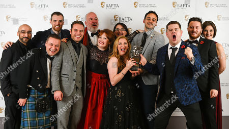 Grado, Chris Forbes, Manjot Sumal, Jack Docherty, Rab Christie, Ashley Smith, Sally Reid, Karen Bartke, Stuart McPherson, Joe Hullait, Jordan Young and Julie Wilson Nimmo - Televison, Scripted - 'Scot Squad'