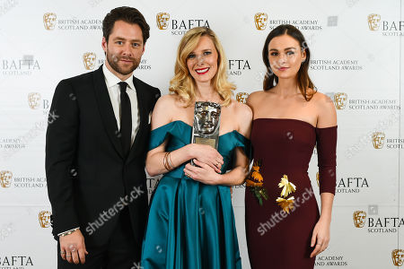 Shauna Macdonald - Actress, Film -'White Chamber' presented by Richard Rankin and Sophie Skelton