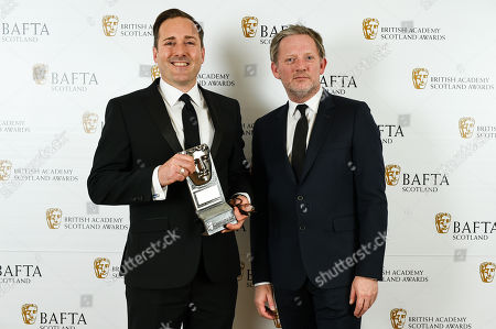 Steve Canney accepting - Actress, Television - Two Doors Down presented by Douglas Henshall
