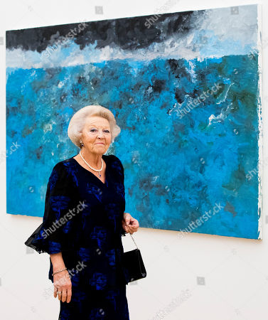 Princess Beatrix visit to the Voorlinden Museum, Wassenaar