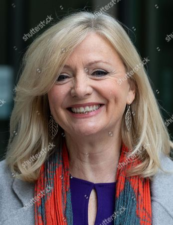Tracy Brabin, Shadow Minster for early years and MP for Batley and Spen, Constituency of murdered MP, Jo Cox, leaves the BBC studios after appearing on The Andrew Marr Show.