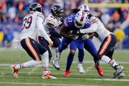 Editorial photo of Bears Bills Football, Orchard Park, USA - 04 Nov 2018