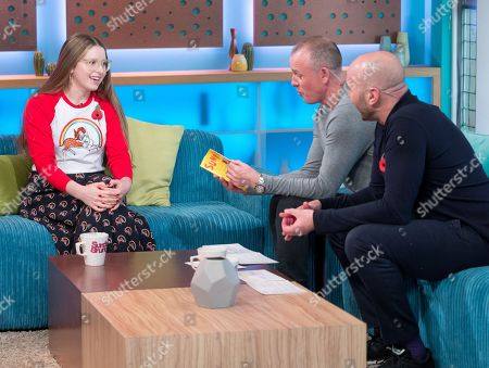 Jessie Cave, Tim Lovejoy and Simon Rimmer
