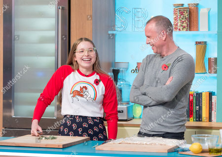 Jessie Cave and Tim Lovejoy