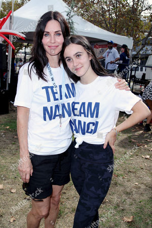 Courteney Cox and Coco Riley Arquette
