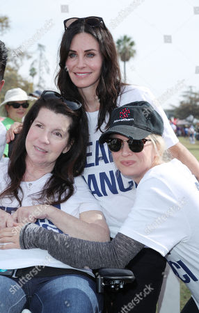 Stock Image of Nanci Ryder, Renee Zellweger and Courteney Cox