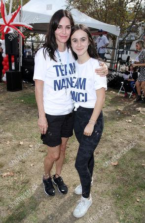 Courteney Cox and Coco Riley Arquette