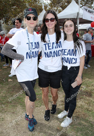 Stock Photo of Renee Zellweger, Courteney Cox and Coco Riley Arquette