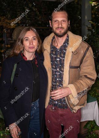 Anouska Beckwith and Luke McSwiney