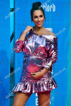 Rita Pereira poses for the photographers on the red carpet for the 2018 MTV Europe Music Awards at Bilbao Exhibition Centre, in Bilbao, Basque Country, Spain, 04 November 2018.