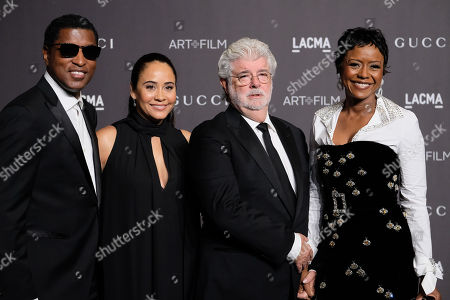 Nicole Pantenburg, George Lucas, Mellody Hobson, Kenneth Babyface Edmonds, Kenneth Babyface Edmonds