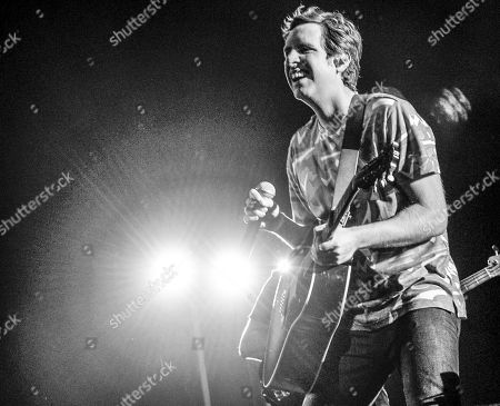 Editorial image of Ben Rector in concert at the Coca-Cola Roxy, Atlanta, USA - 03 Nov 2018