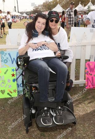 Renee Zellweger and Nanci Ryder