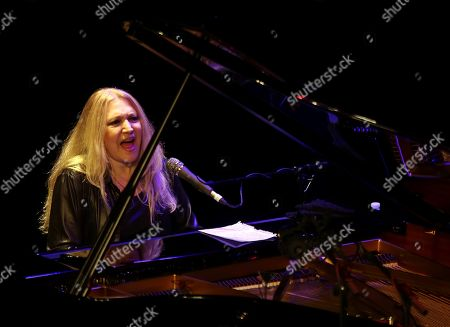 Brazilian pianist Eliane Elias performs during a concert within the 39th Granada International Jazz Festival at the Isabel la Catolica theater in Granada, Andalusia, Spain, 04 November 2018.