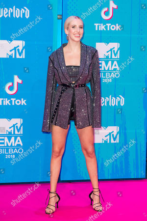 Editorial photo of 25th MTV Europe Music Awards, Arrivals, Bilbao, Spain - 04 Nov 2018
