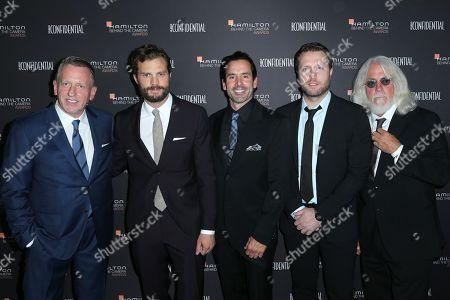 Spencer Beck, Jamie Dornan, Chris Gialanella, Matthew Heineman and Robert Richardson