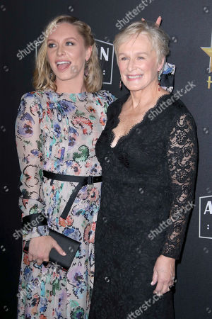 Stock Photo of Annie Stark and mother Glenn Close