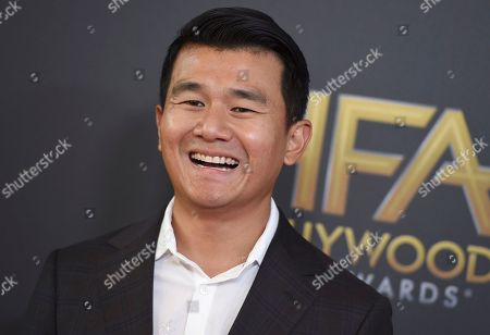Ronny Chieng arrives at the Hollywood Film Awards, at the Beverly Hilton Hotel in Beverly Hills, Calif
