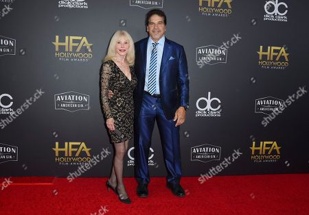 Lou Ferrigno, Carla Ferrigno. Lou Ferrigno, right, and Carla Ferrigno arrive at the Hollywood Film Awards, at the Beverly Hilton Hotel in Beverly Hills, Calif