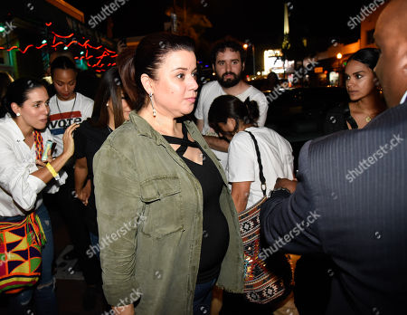 Ana Navarro canvasses the area of Little Havana along with the New Florida Majority, the Florida Immigrant Coalition, the Center for Popular Democracy Action and the Latino Victory Project 'Latinas En Marcha' to turn out the vote for upcoming midterm elections
