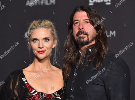 Stock Picture of Dave Grohl and Jordyn Blum