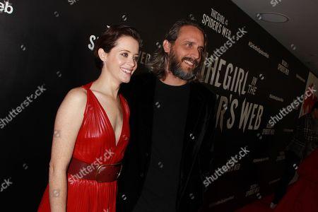 Claire Foy and Fede Alvarez